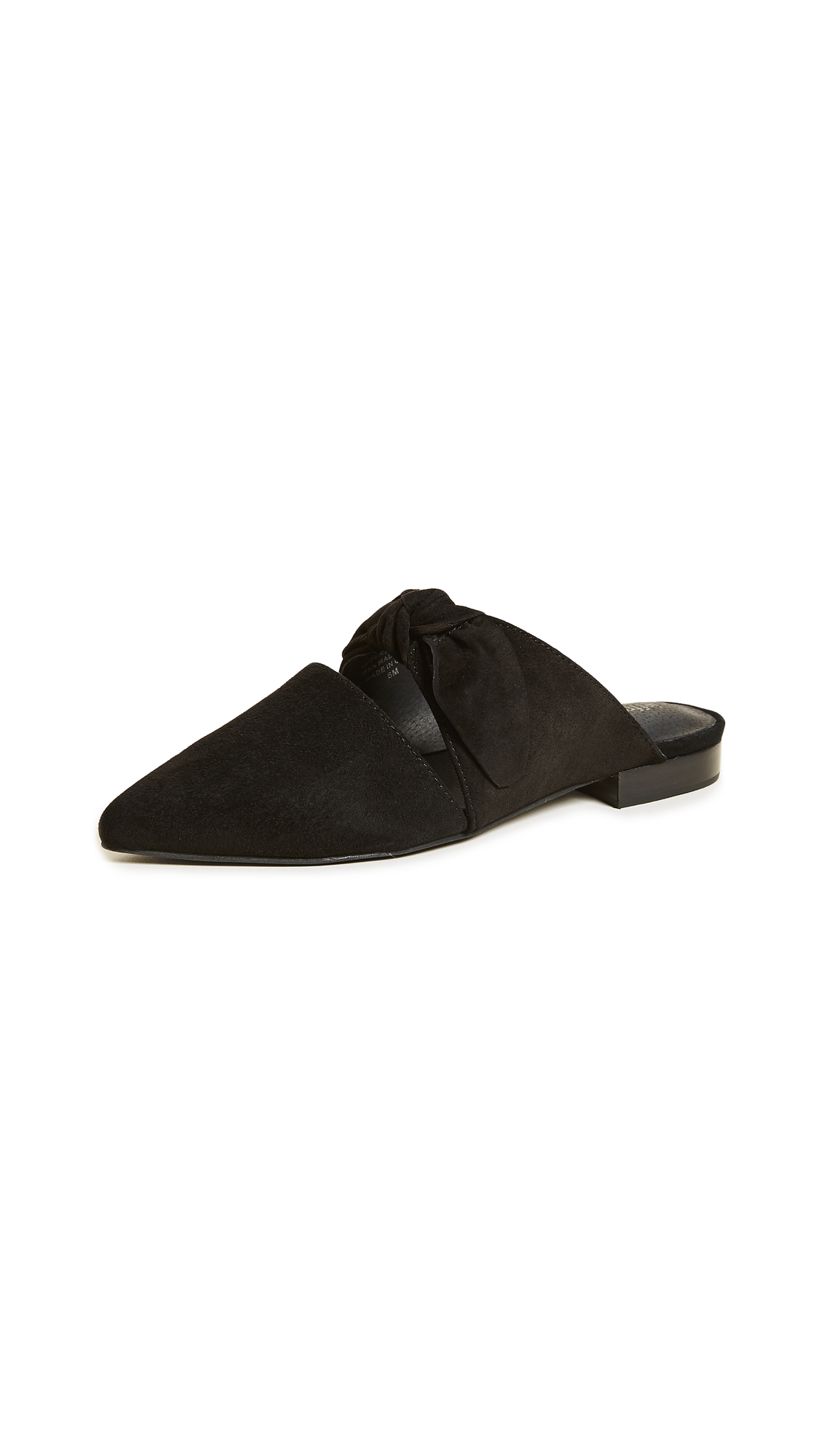 Jeffrey Campbell Charlin Point Toe Mules - Black