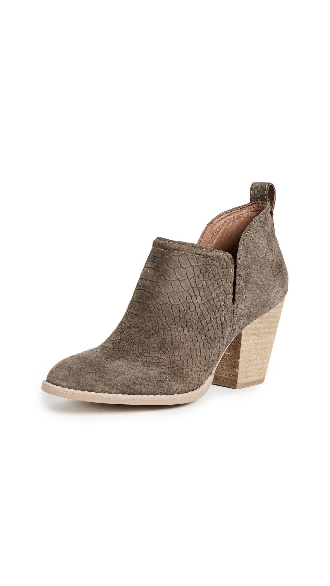 Jeffrey Campbell Rosalee Ankle Booties - Khaki