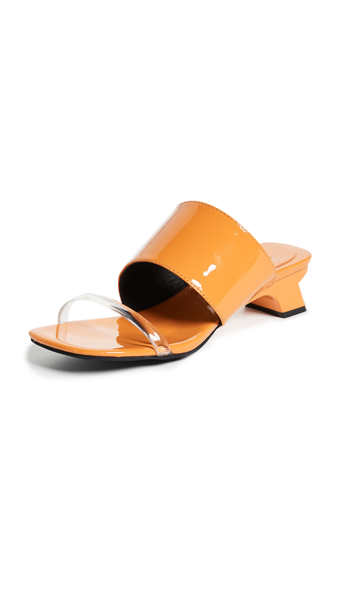 Jeffrey Campbell 4Ever Strappy Sandals - Orange