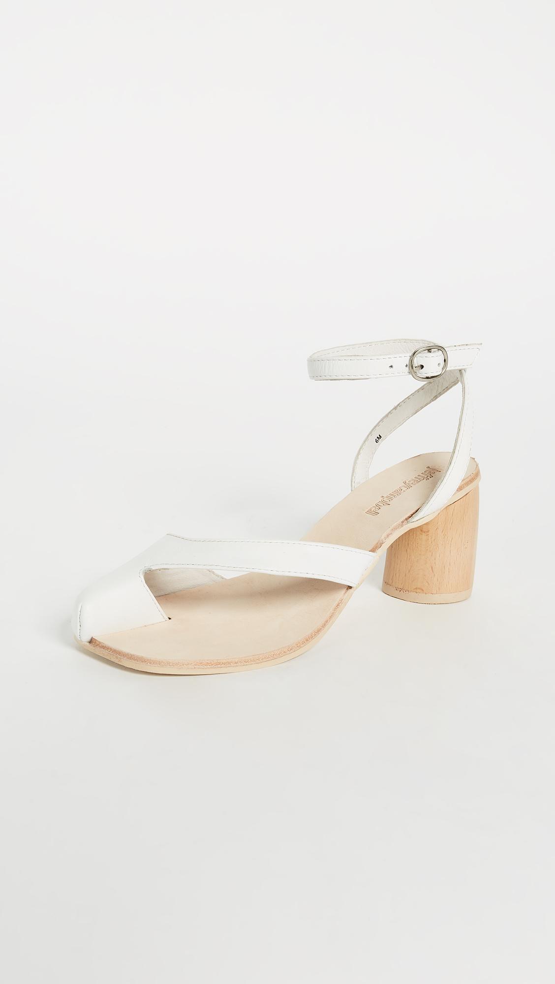 9d2fa928d41 Jeffrey Campbell Hex Block Heel Sandals