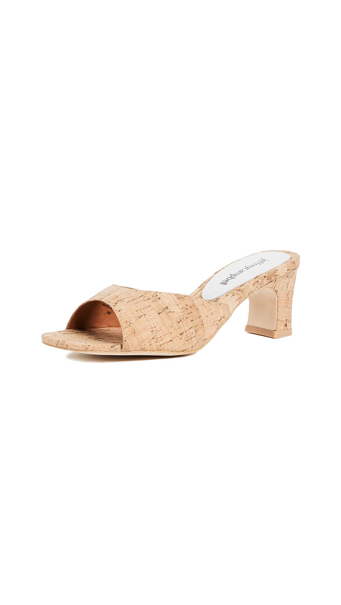 Jeffrey Campbell Honey Slides - Cork