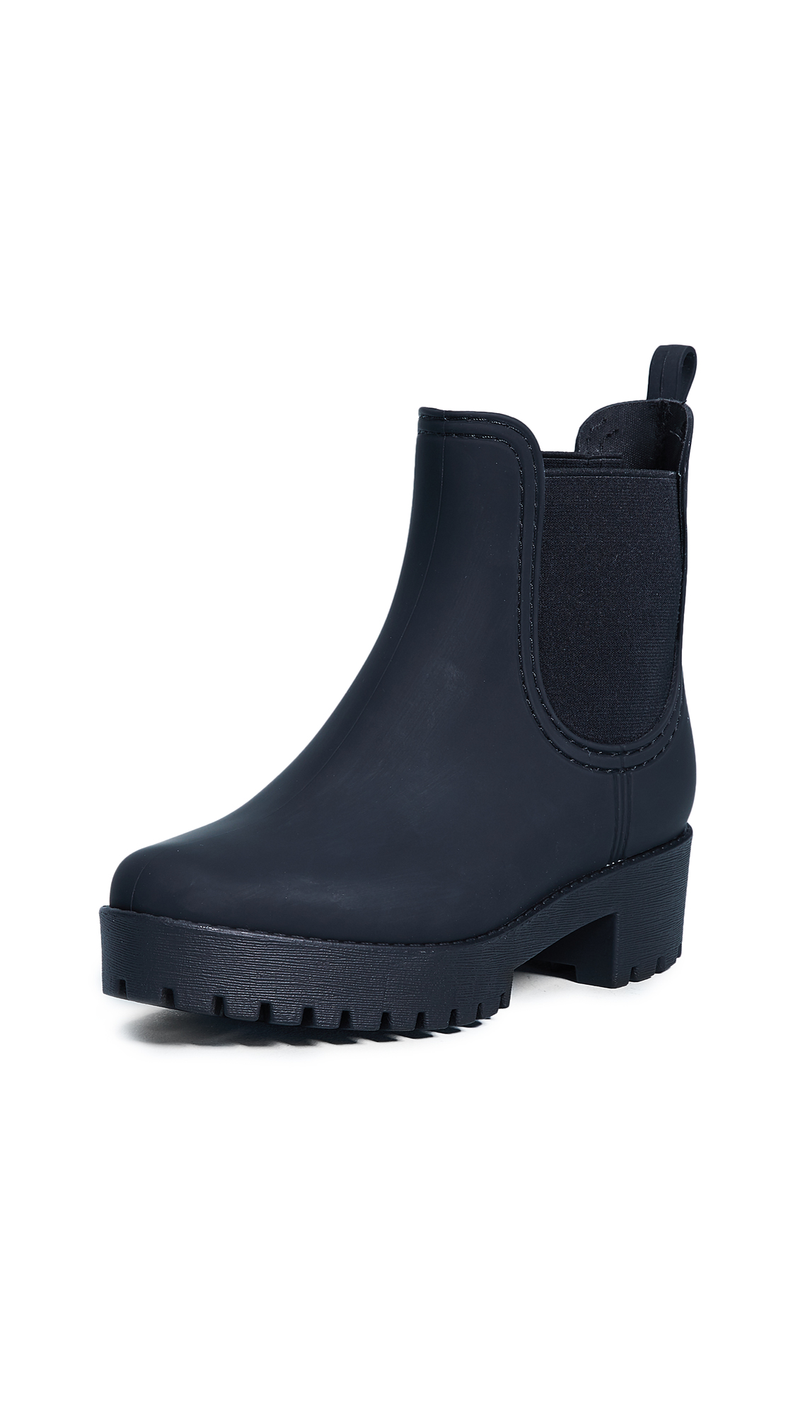 Jeffrey Campbell Cloudy Rain Booties - Black