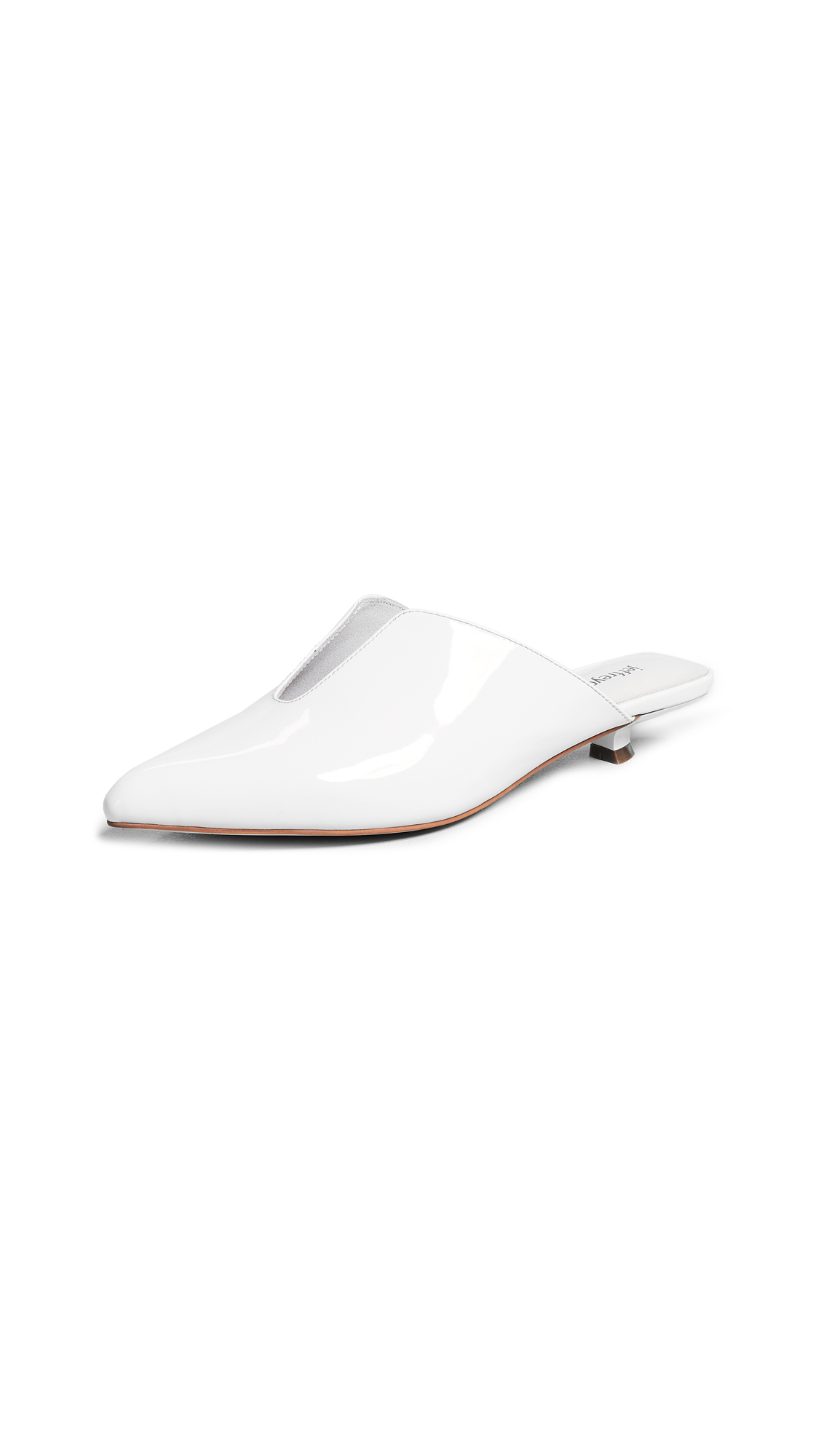 Jeffrey Campbell Tableu Kitten Heel Pumps - White