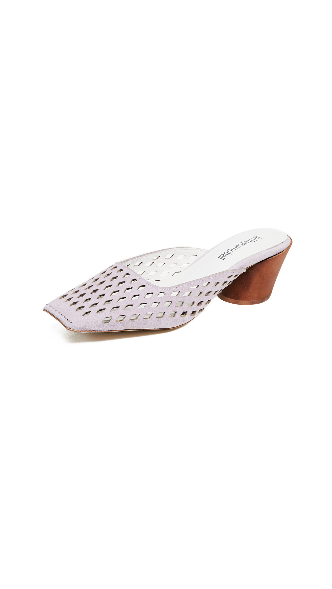 Jeffrey Campbell Lakme Perforated Pumps - Lilac