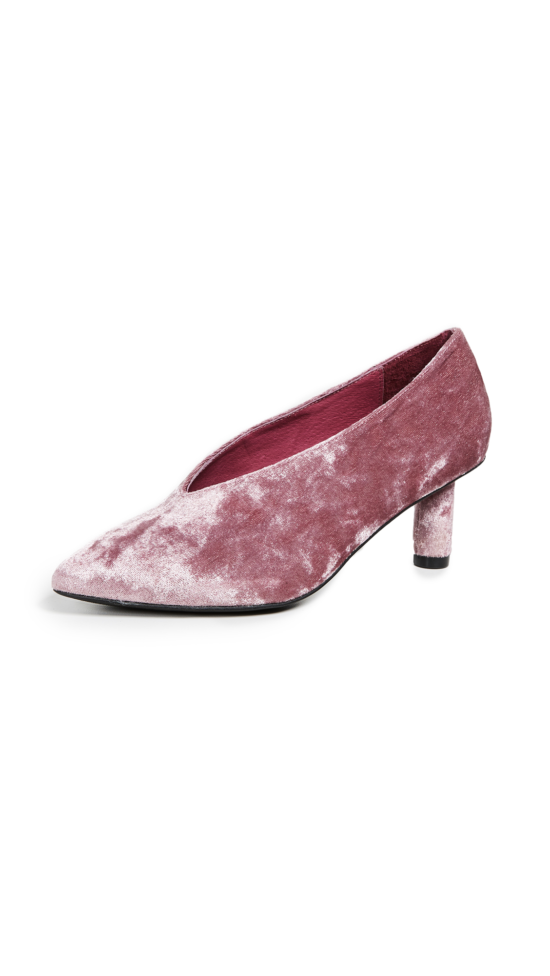 Jeffrey Campbell Carla Point Toe Pumps - Mauve