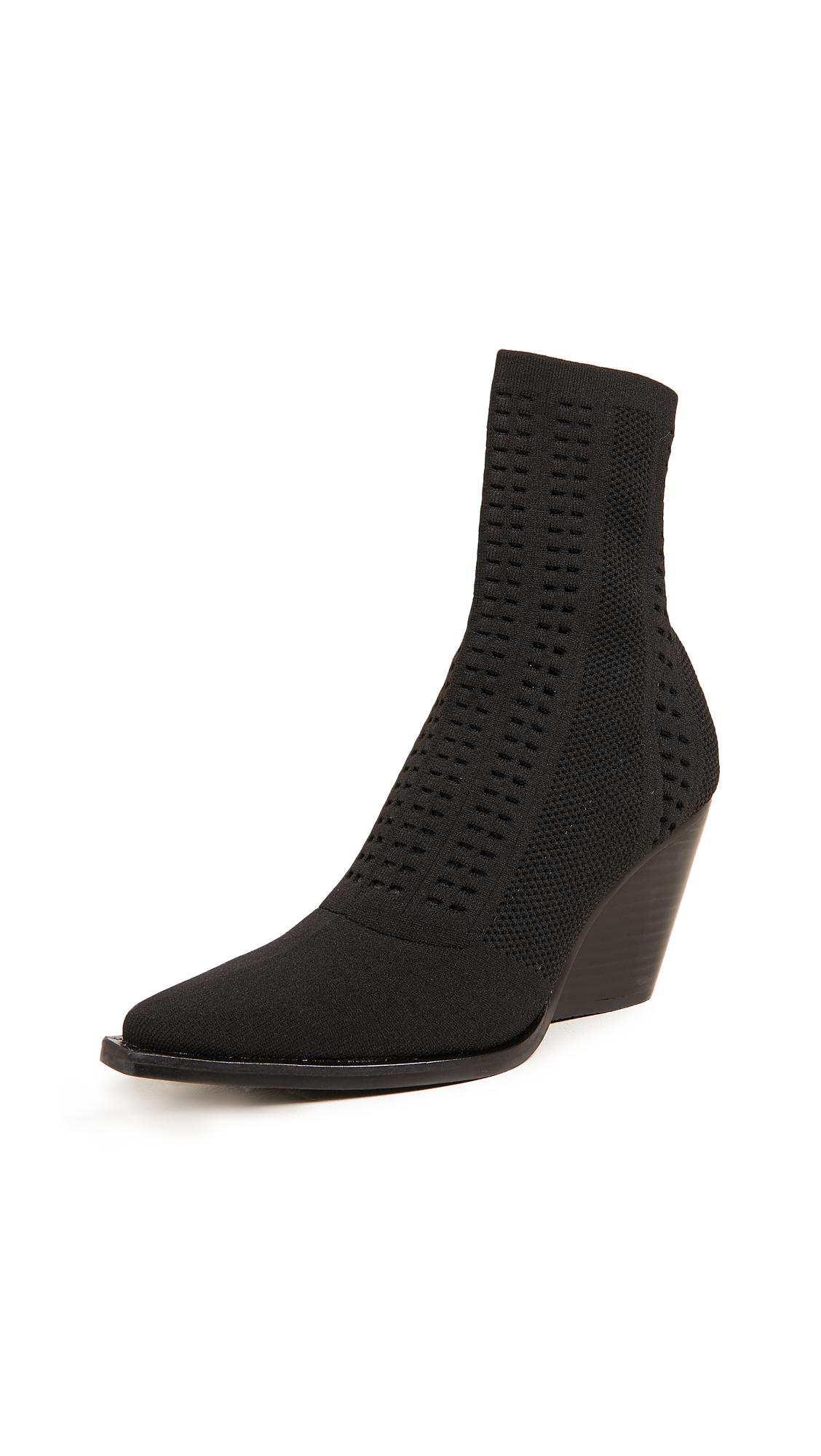 Jeffrey Campbell Walton Point Toe Boots - Black