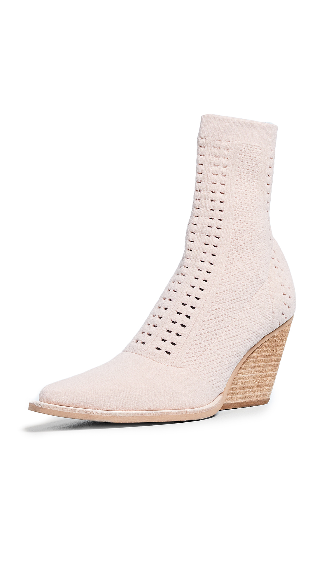 Jeffrey Campbell Walton Point Toe Boots - Pink Natural