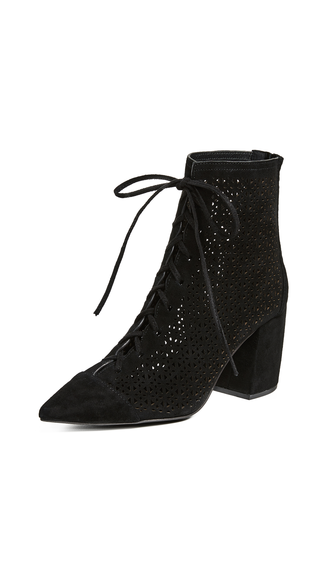 Jeffrey Campbell Finito Booties - Black