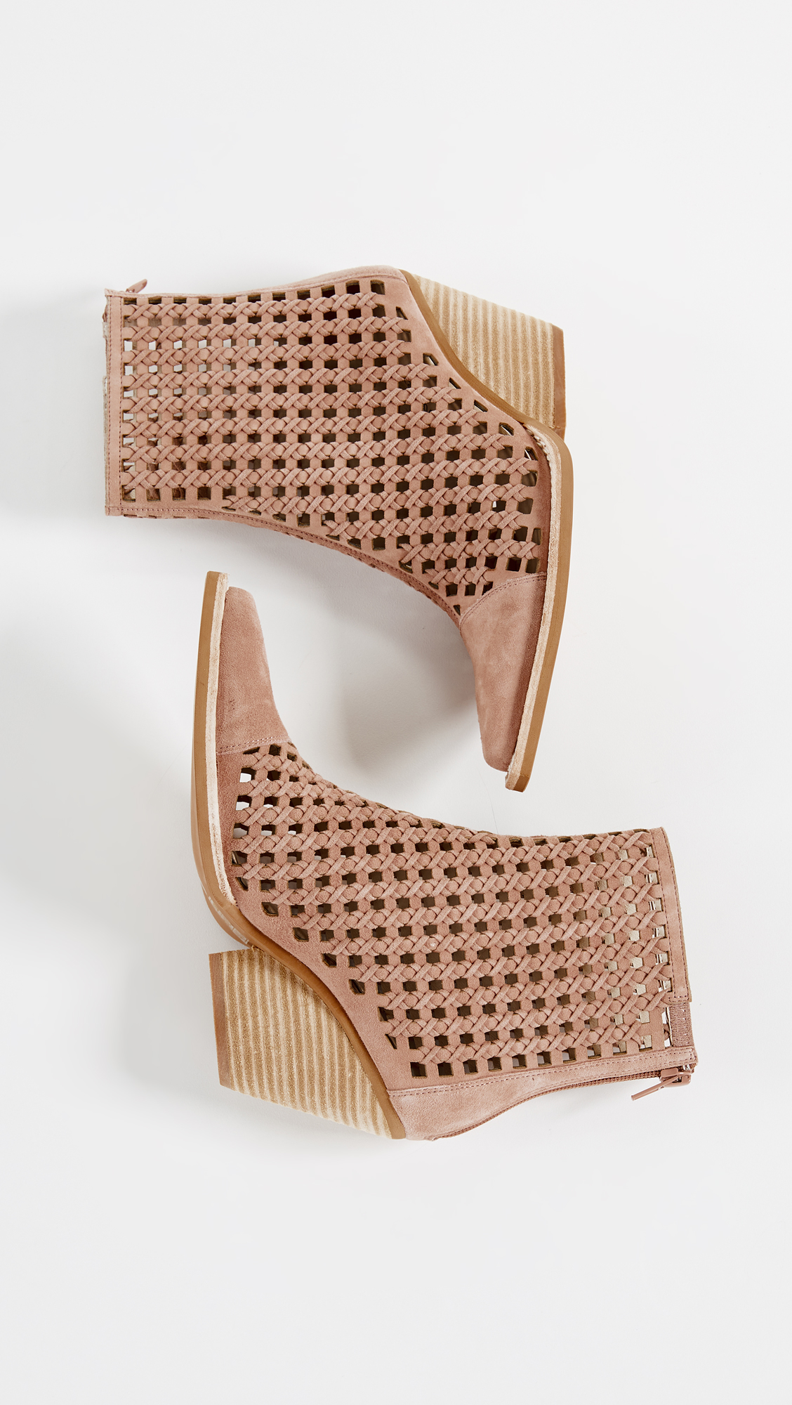 c380125185072 Jeffrey Campbell Oakwood Woven Booties