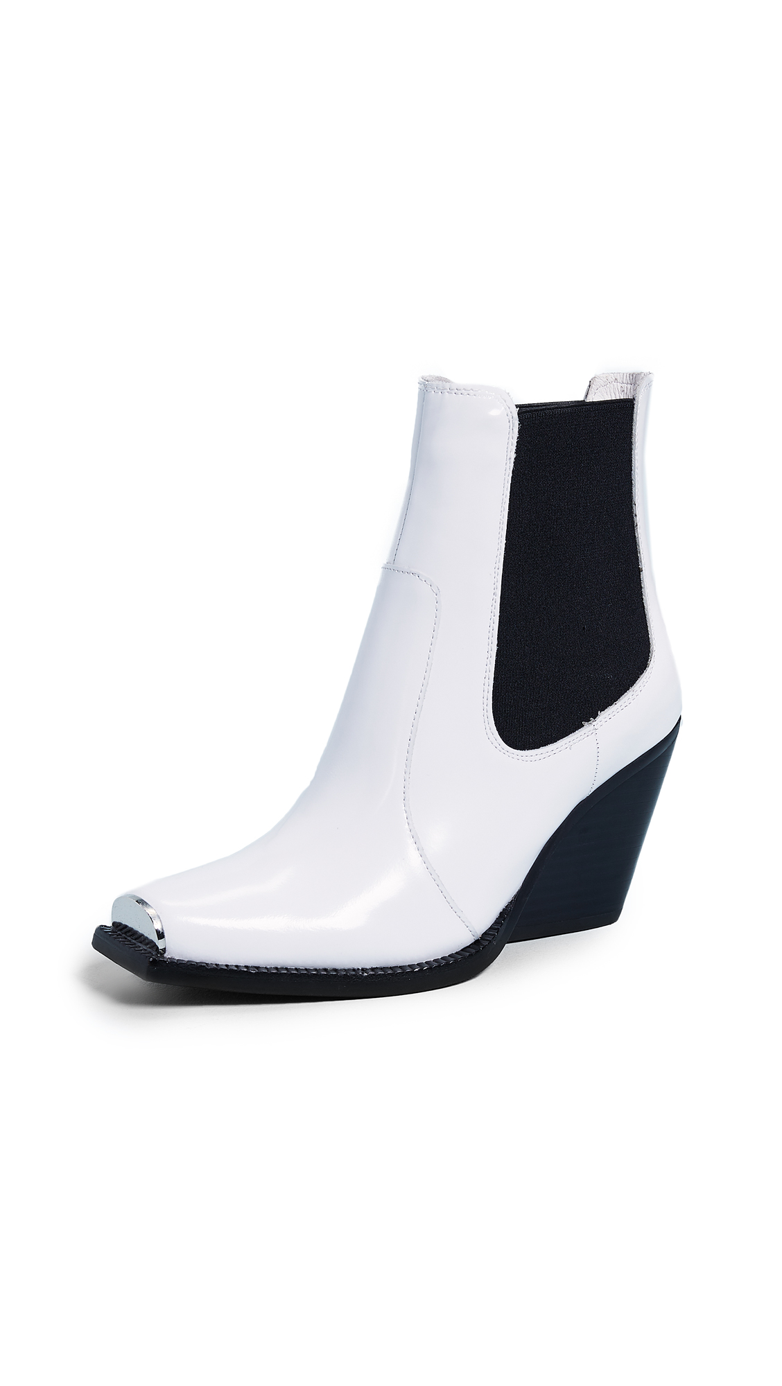 Jeffrey Campbell Underkill Boots - White