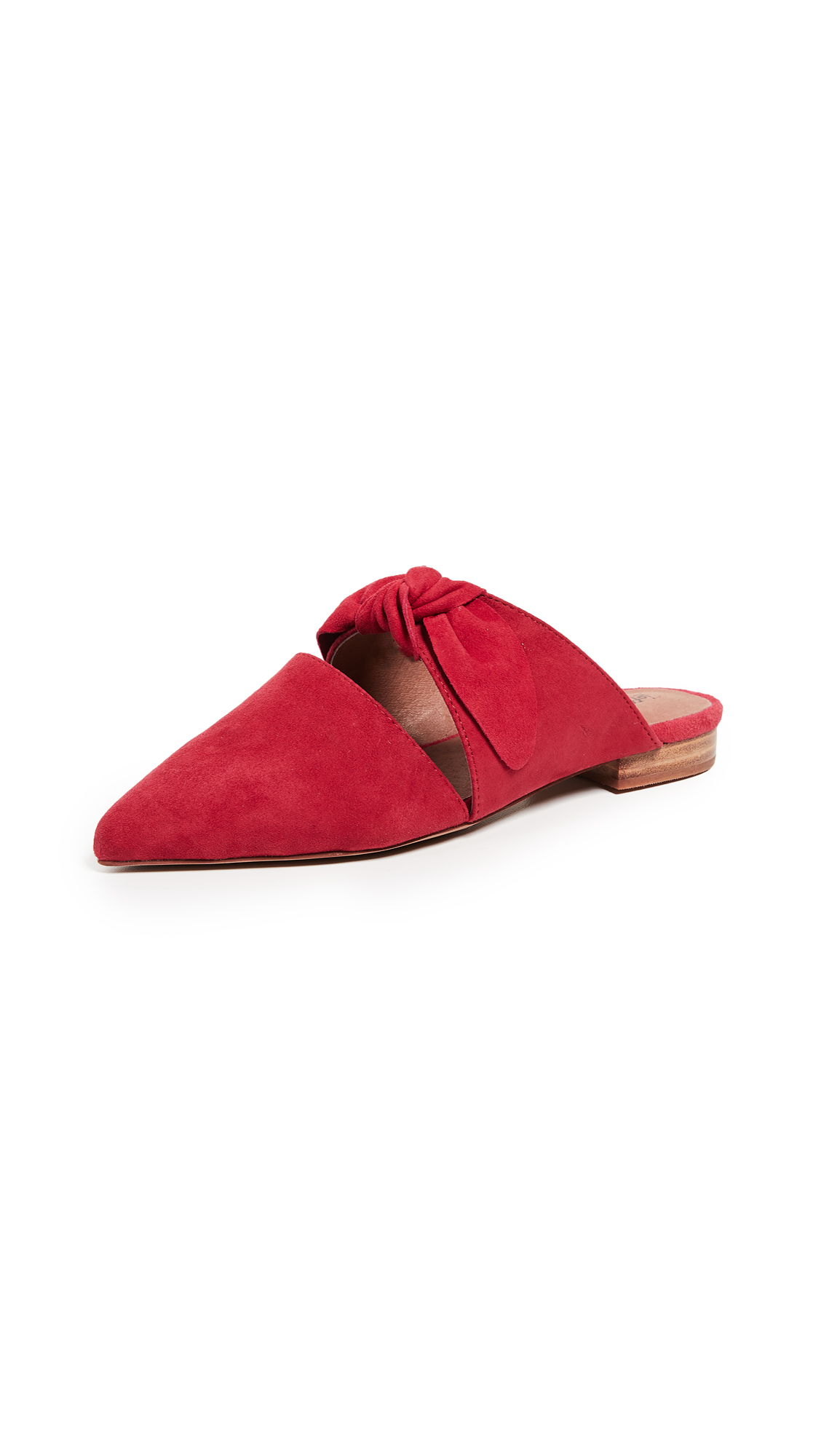 Jeffrey Campbell Charlin Point Toe Mules - Red