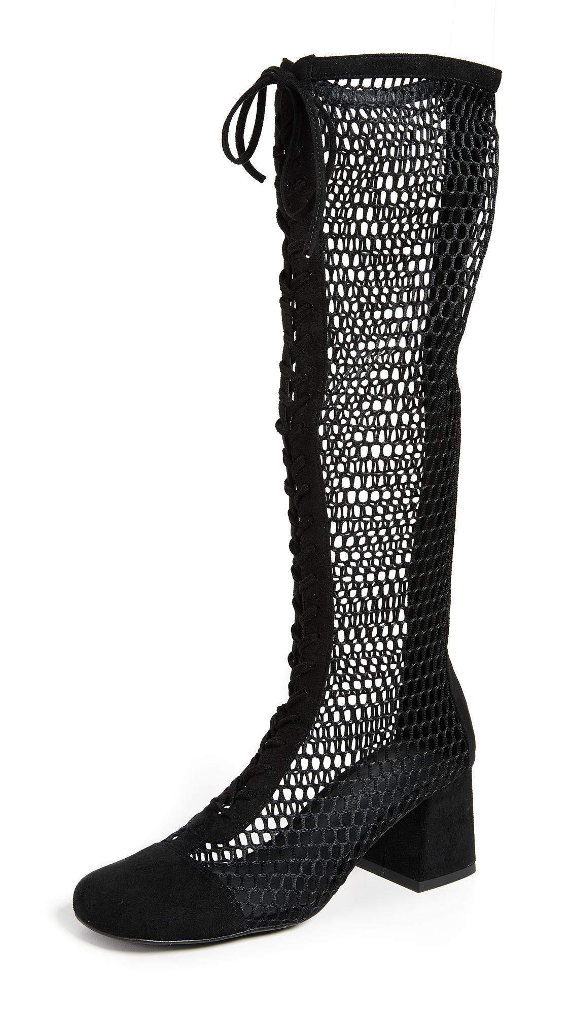 Jeffrey Campbell Diviner Boots - Black