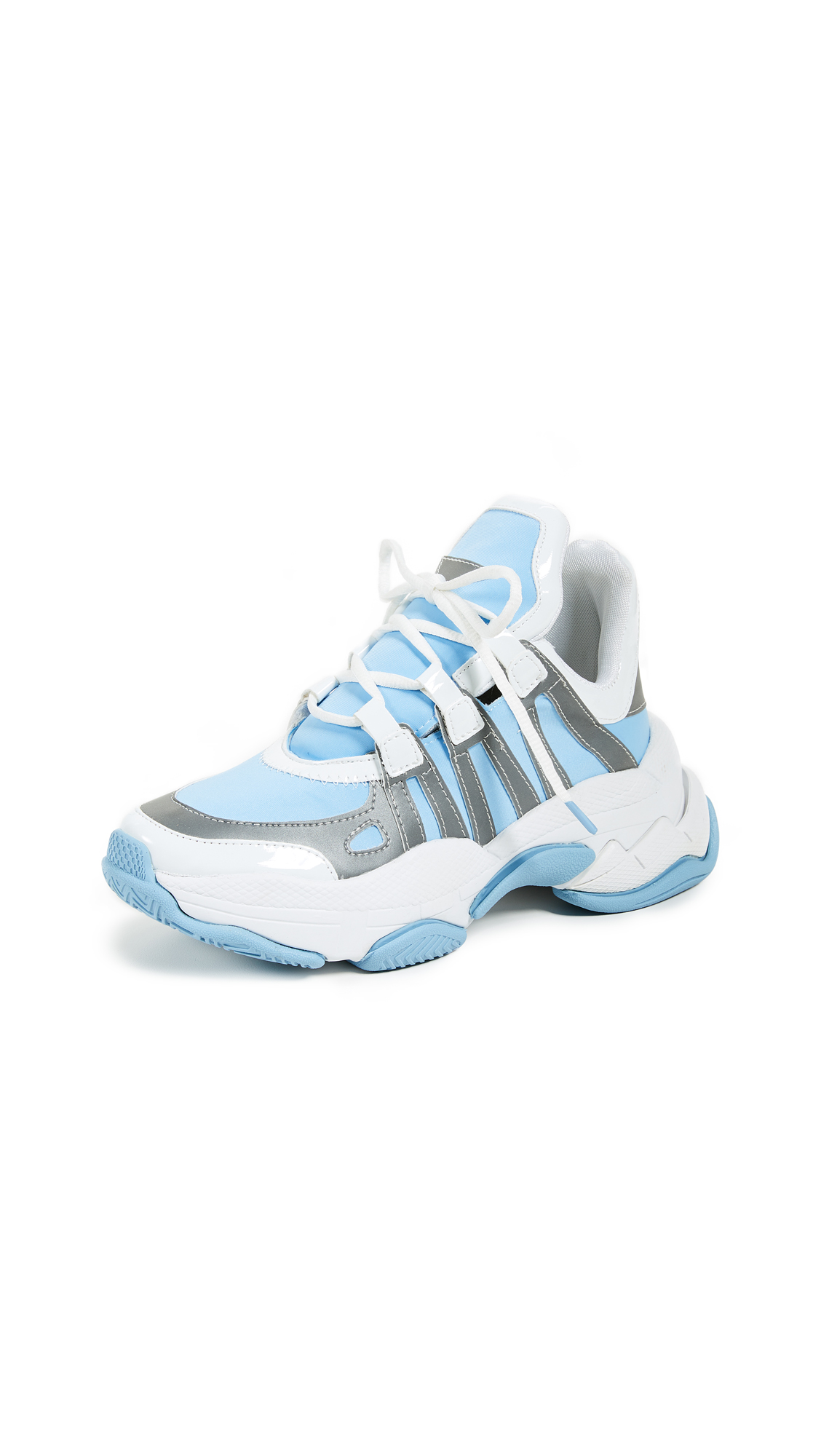 Jeffrey Campbell Wifi Trainers - Baby Blue