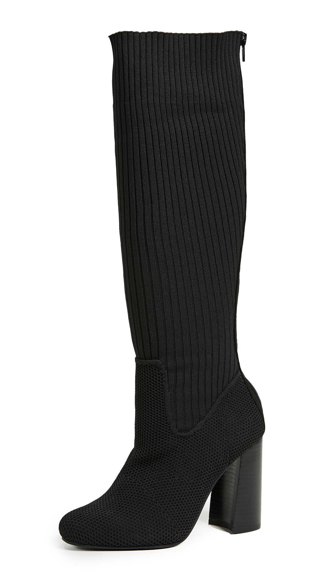 Jeffrey Campbell Expert Tall Boots - Black Combo