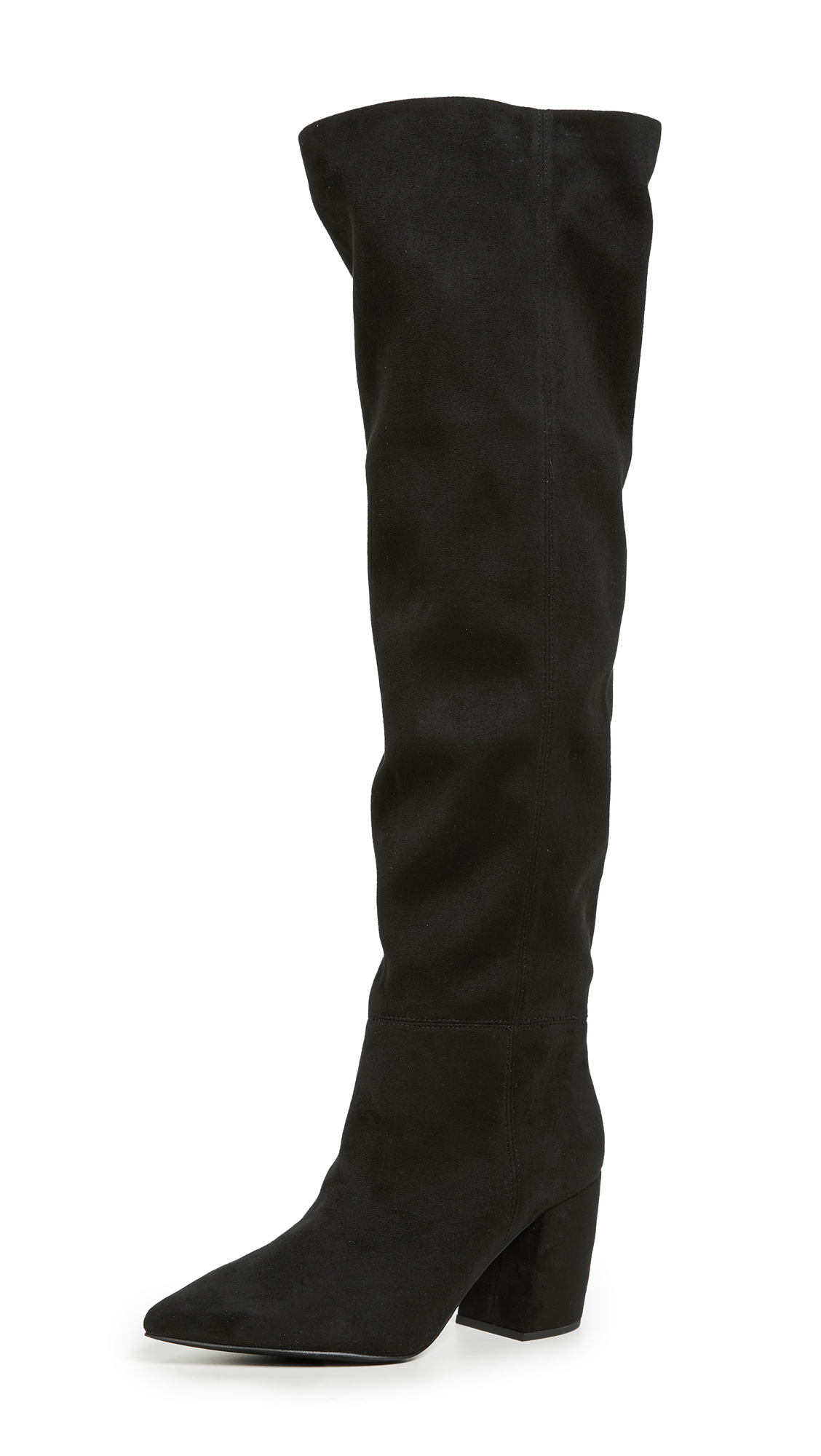 Jeffrey Campbell Final Slouchy Boots - Black