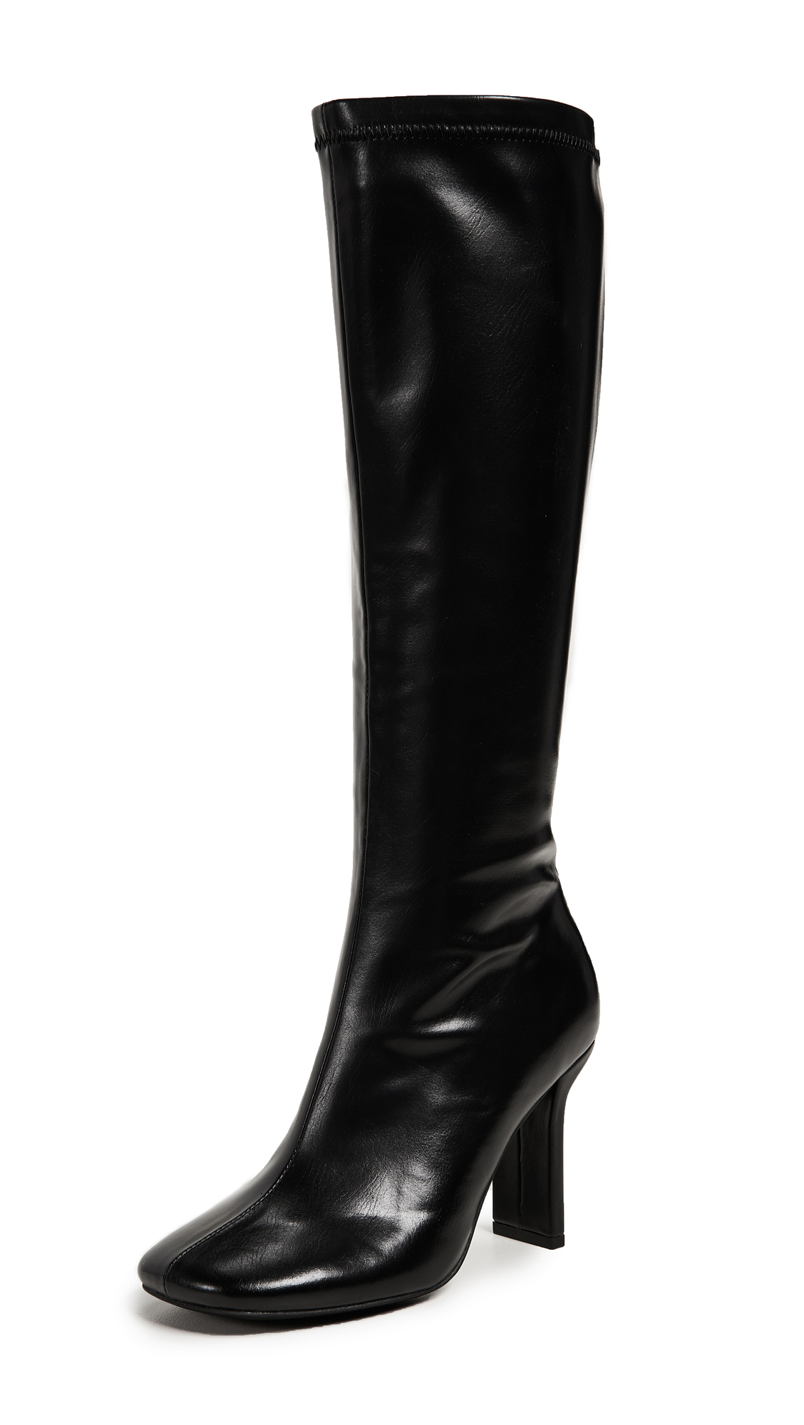 Jeffrey Campbell Obey Tall Boots - Black