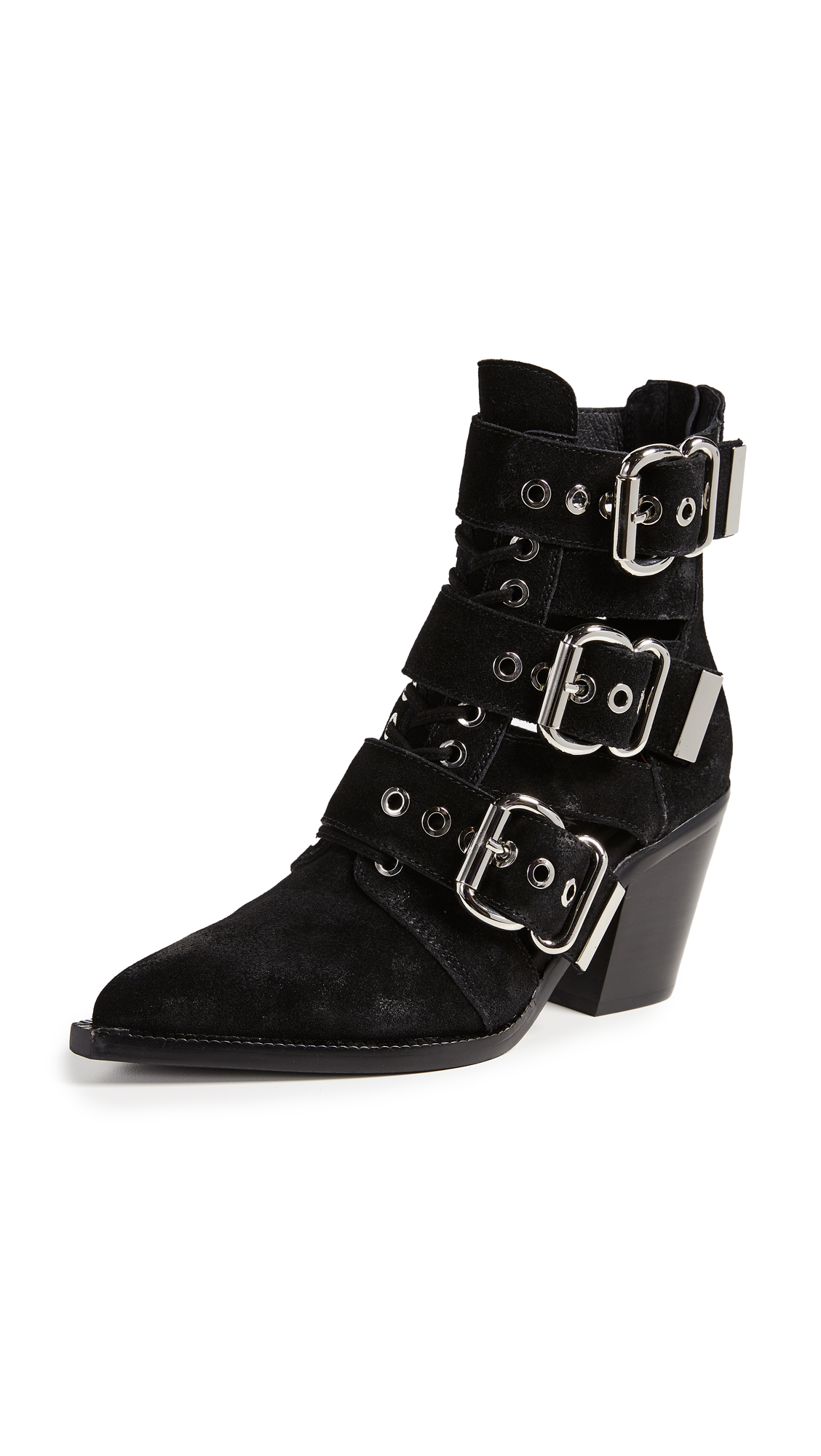 CACERES BUCKLE BOOTIES