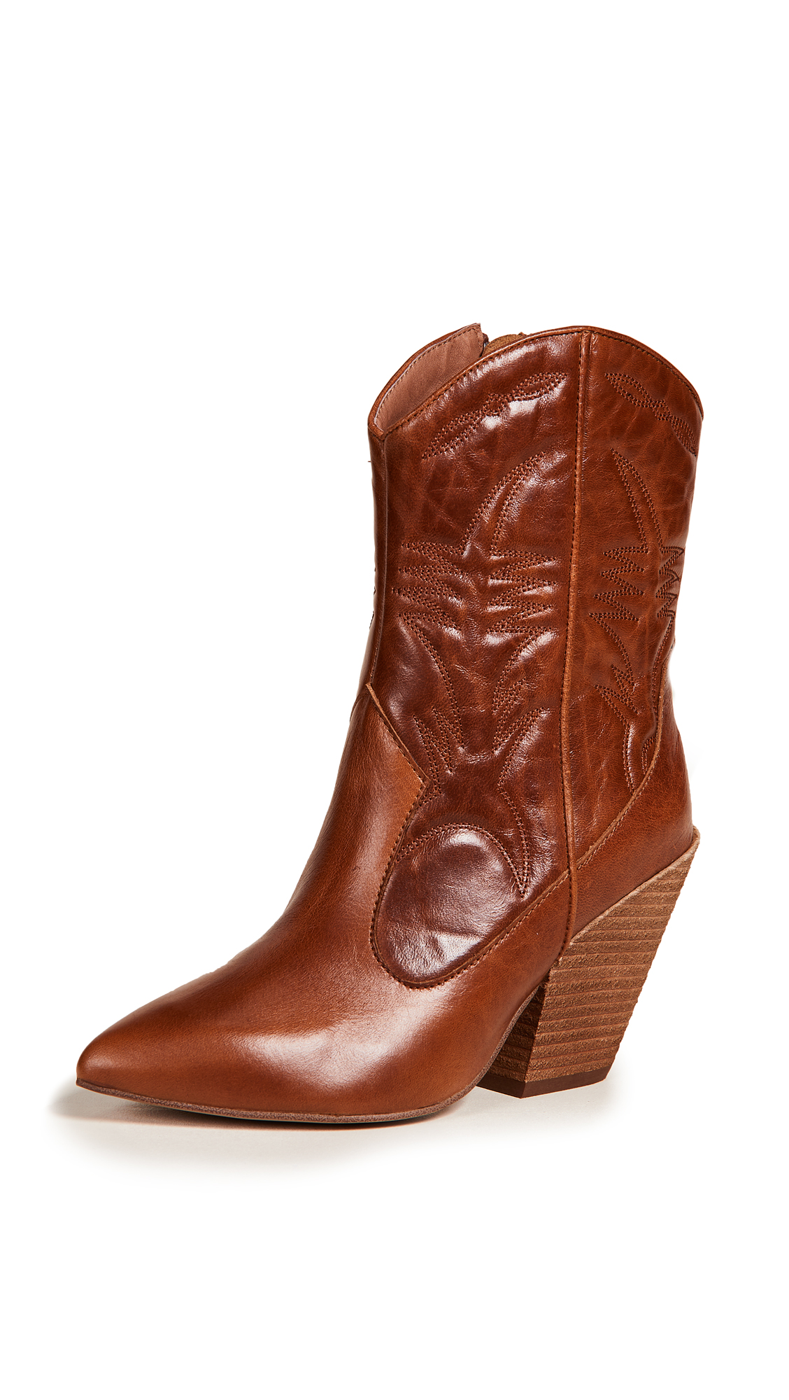 Jeffrey Campbell Midpark Western Boots - Tan
