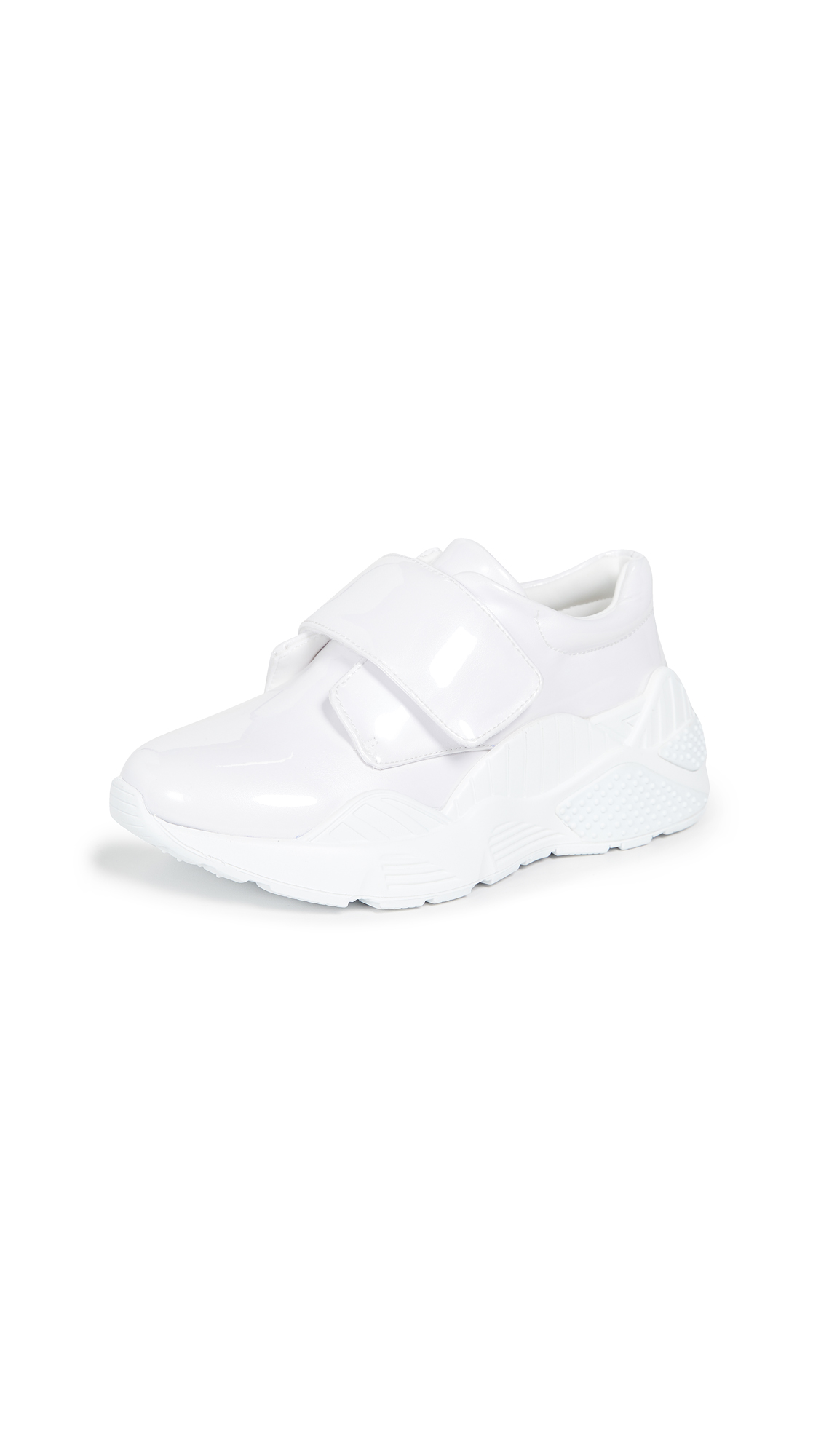 Jeffrey Campbell Blade Runner Sneakers - White/Clear