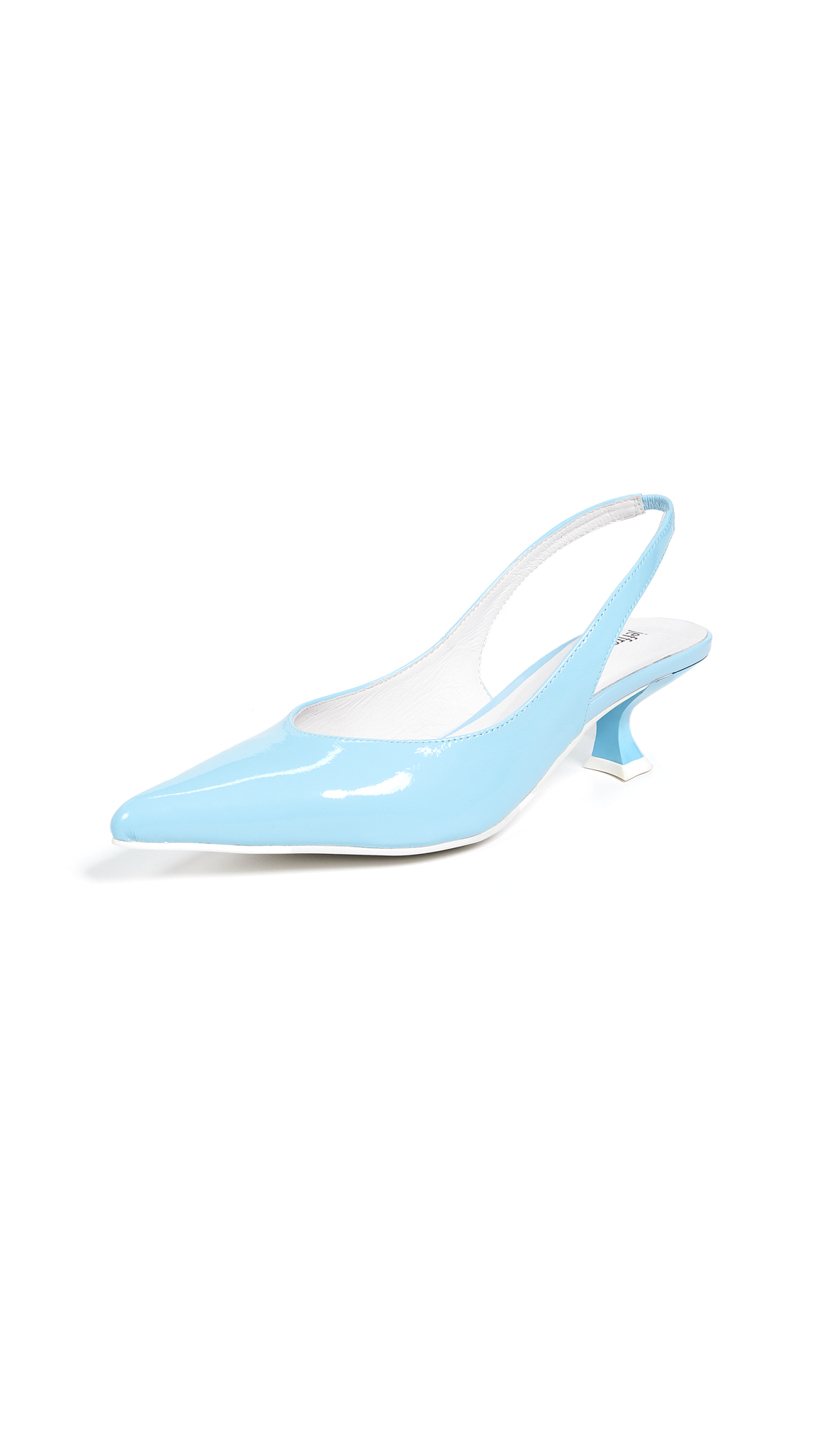 Jeffrey Campbell Amulet Point Toe Slingbacks - Baby Blue