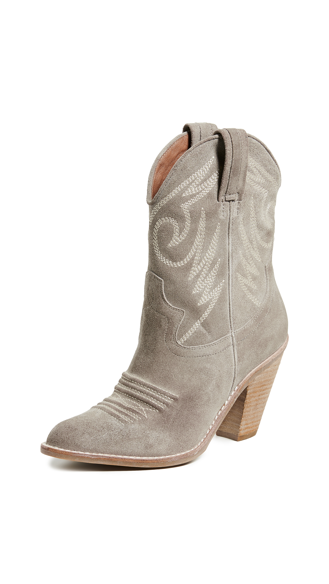 Jeffrey Campbell Audie Western Boots - Taupe