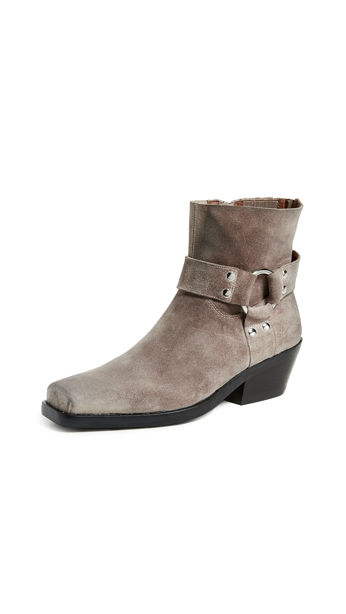 Jeffrey Campbell Farrier Boots - Taupe