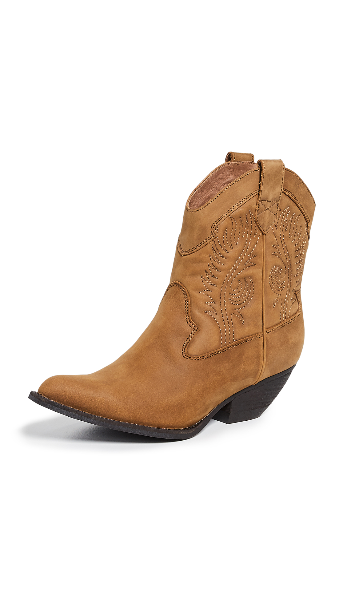Jeffrey Campbell Calvera Western Boots - Tan