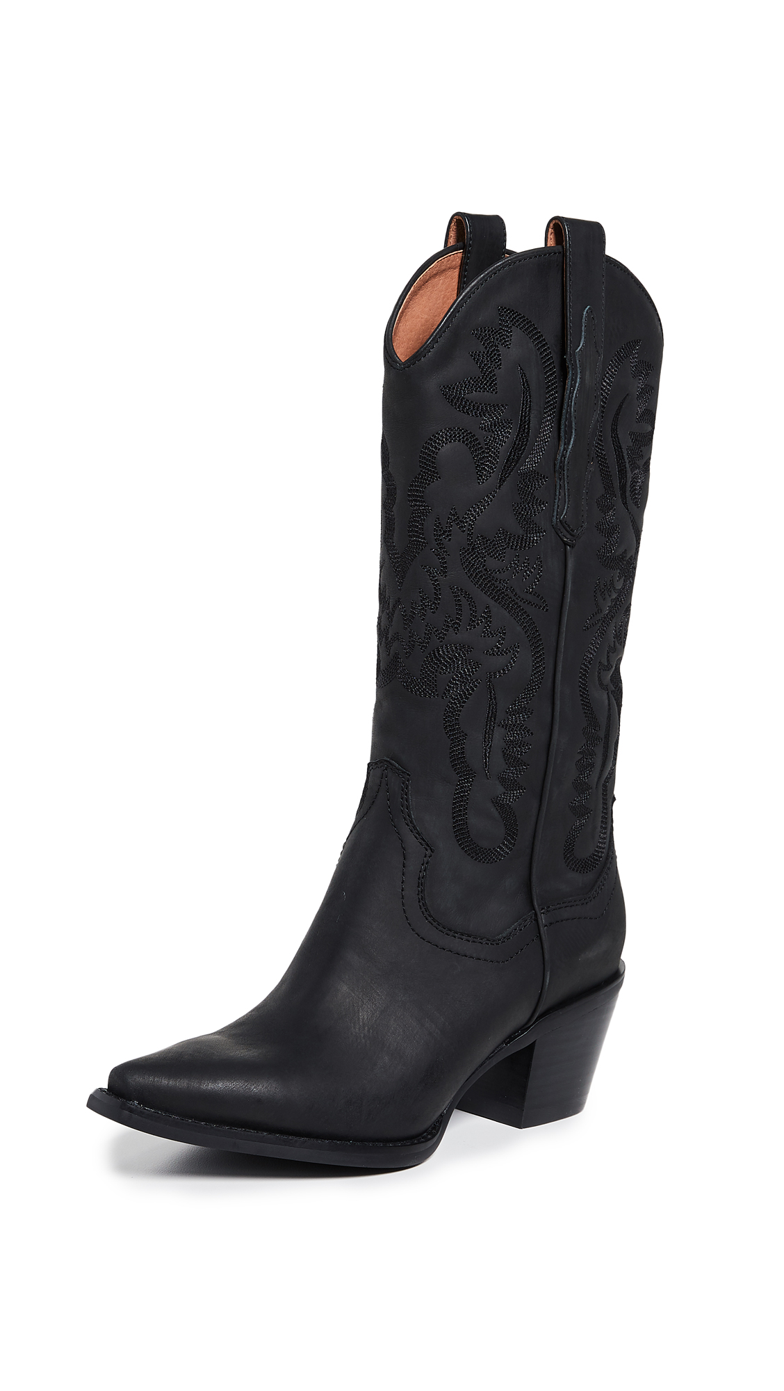 Photo of Jeffrey Campbell Dagget Western Boots - buy Jeffrey Campbell footwear online
