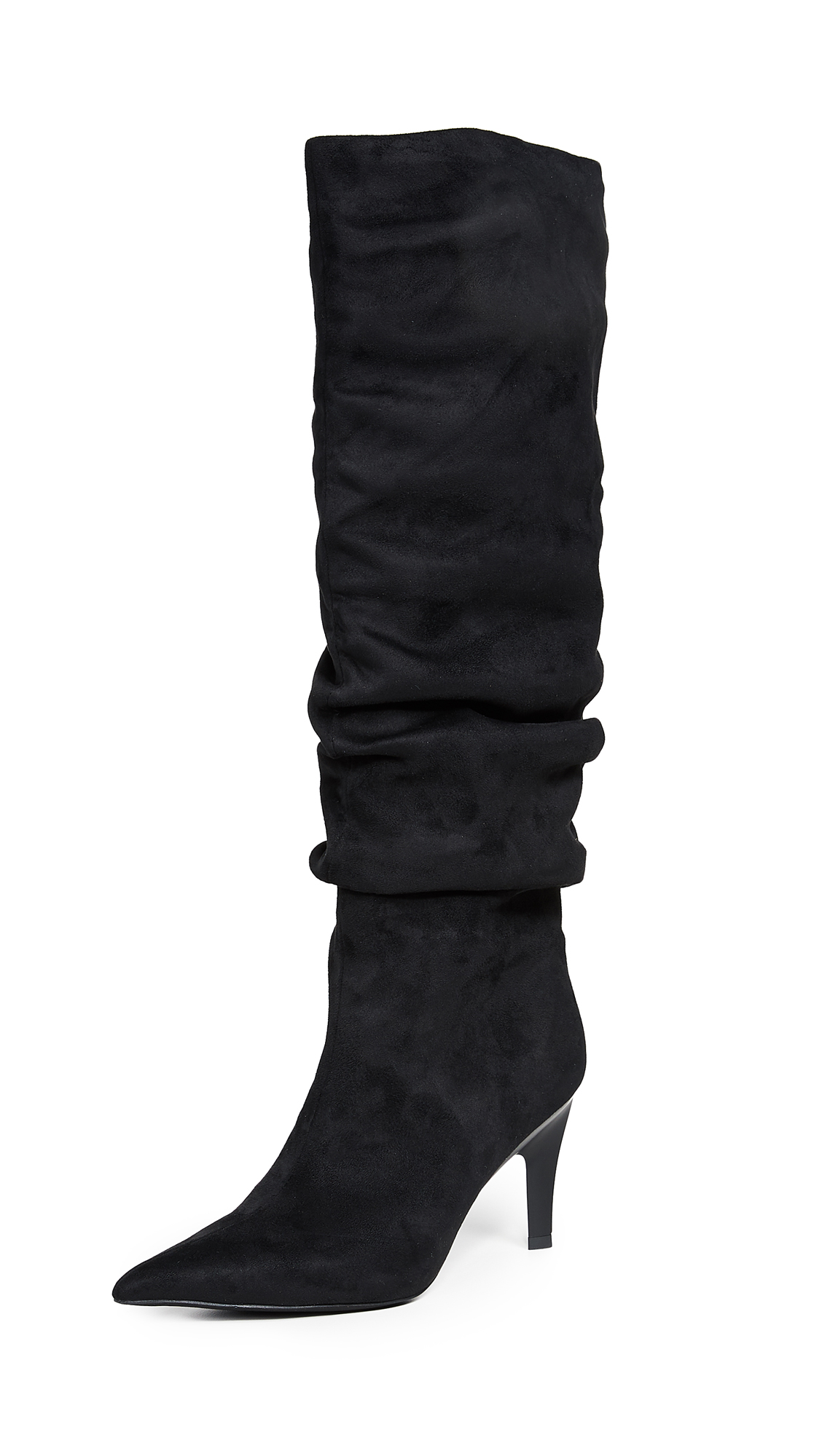 Jeffrey Campbell Brutish Point Toe Boots - Black