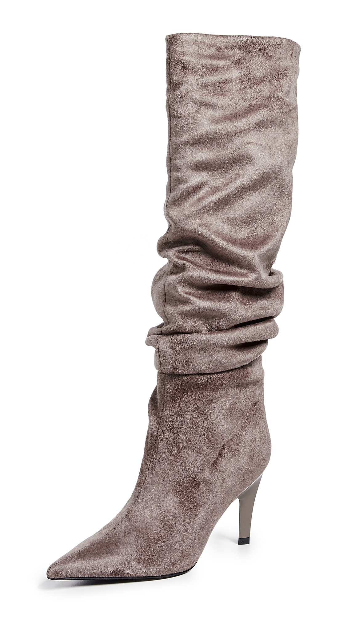 Jeffrey Campbell Brutish Point Toe Boots - Taupe