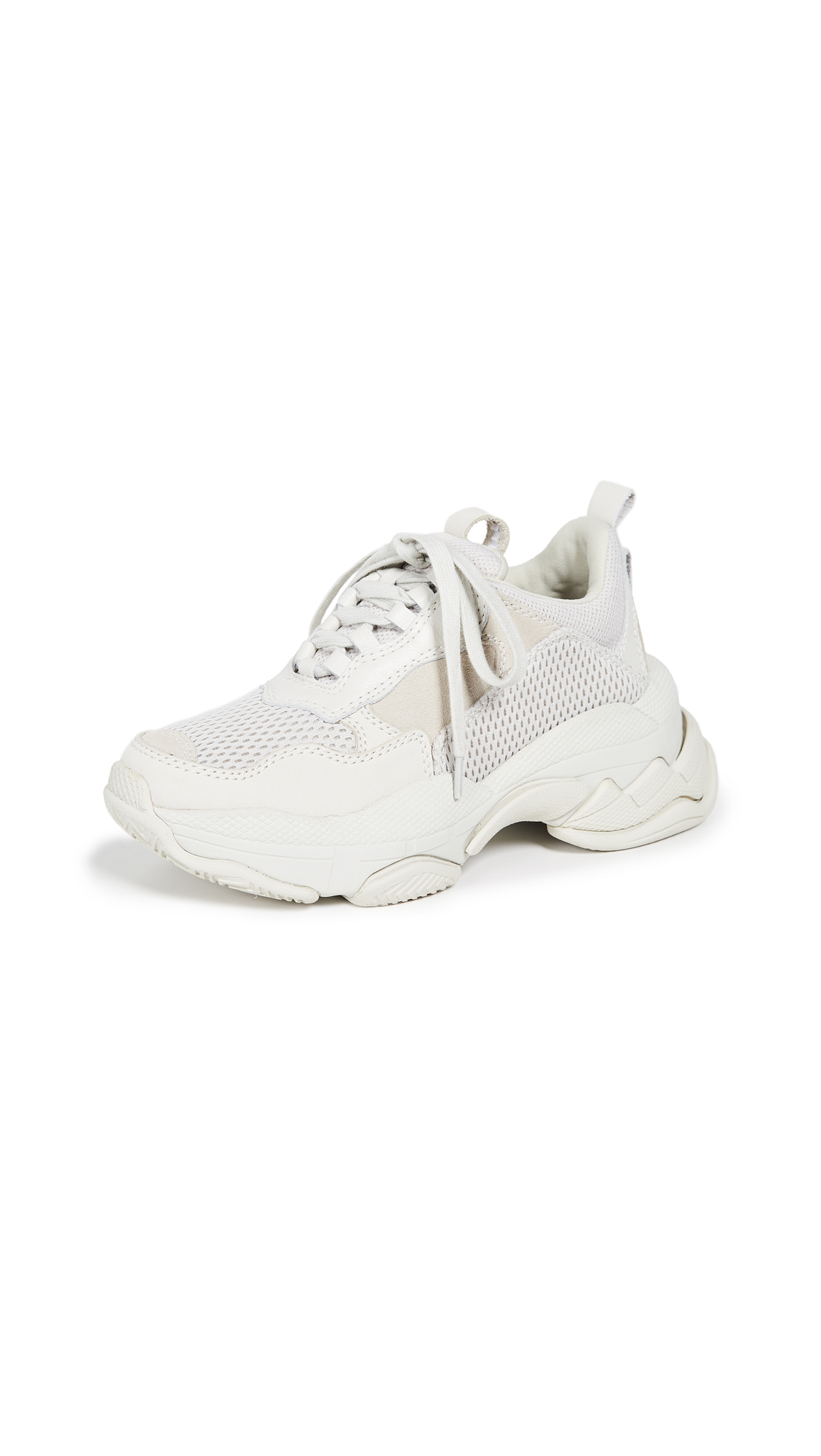 Jeffrey Campbell Lo-Fi Sneakers - Off White Mesh