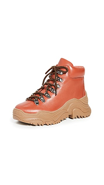 Photo of  Jeffrey Campbell Relic Combat Boots- shop Jeffrey Campbell Boots, Flat online sales