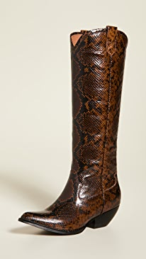 5f54925ae Jeffrey Campbell. Calvera Tall Western Boots