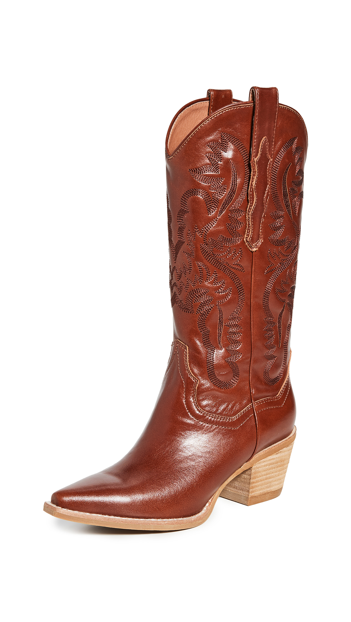 Buy Jeffrey Campbell online - photo of Jeffrey Campbell Dagget Western Boots