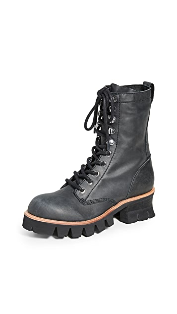 Jeffrey Campbell Sycamore Combat Boots