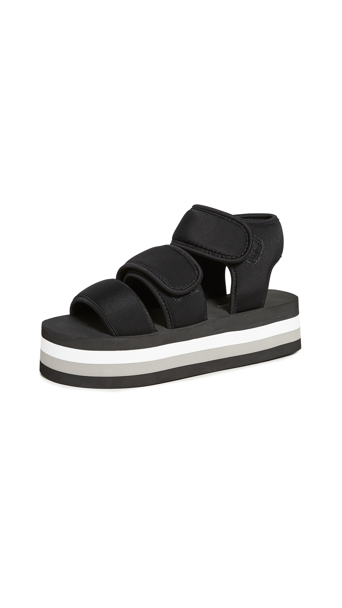 Buy Jeffrey Campbell online - photo of Jeffrey Campbell Shaka Platform Sandals