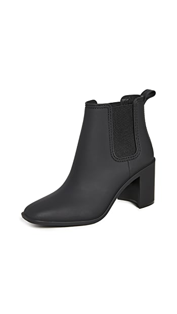 Jeffrey Campbell Hurricane Rain Booties - Black Matte