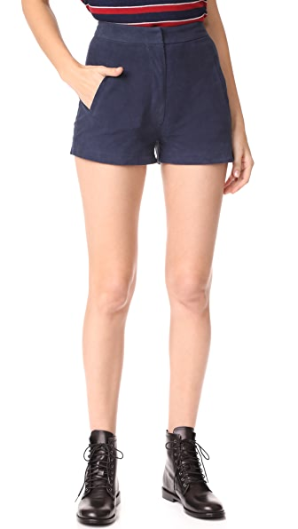 Jenni Kayne Tap Shorts - Navy