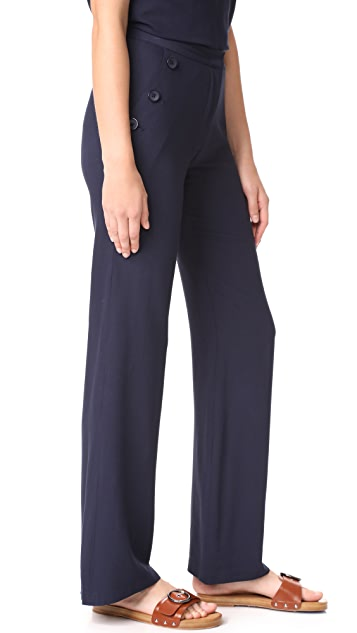 Jenni Kayne Button Birkin Pants