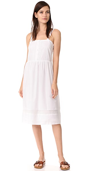 Jenni Kayne Pintuck Dress In White