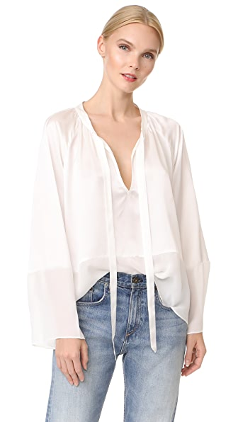 Jenni Kayne Poet Top - Off White