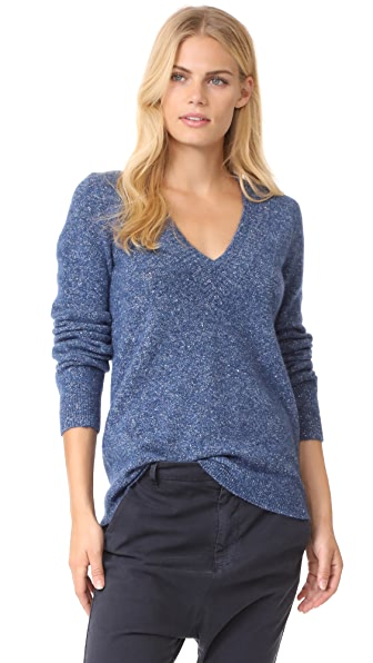Jenni Kayne MR College V Neck - Navy