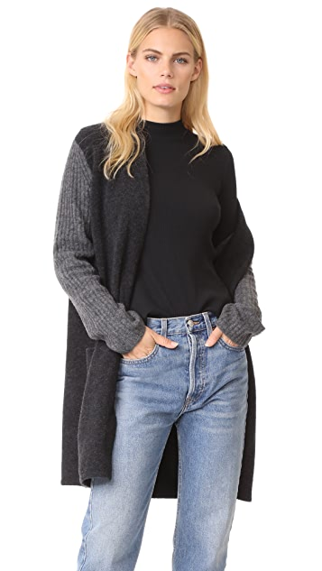 Jenni Kayne Yak Rib Sleeve Sweater Coat | SHOPBOP SAVE UP TO 30 ...