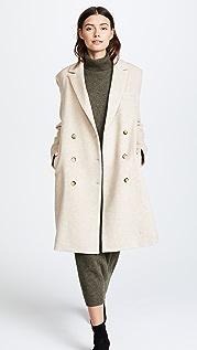 Jenni Kayne Double Breasted Alpaca Coat
