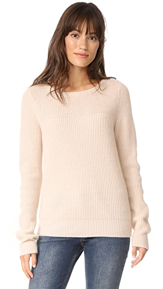 Jenni Kayne Cashmere Pullover Sweater - Wheat