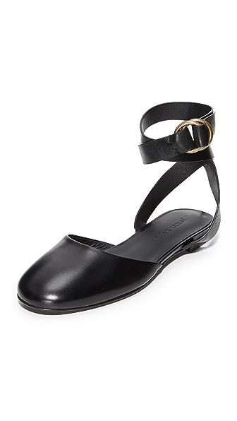 Jenni Kayne Strap Ballet Slippers