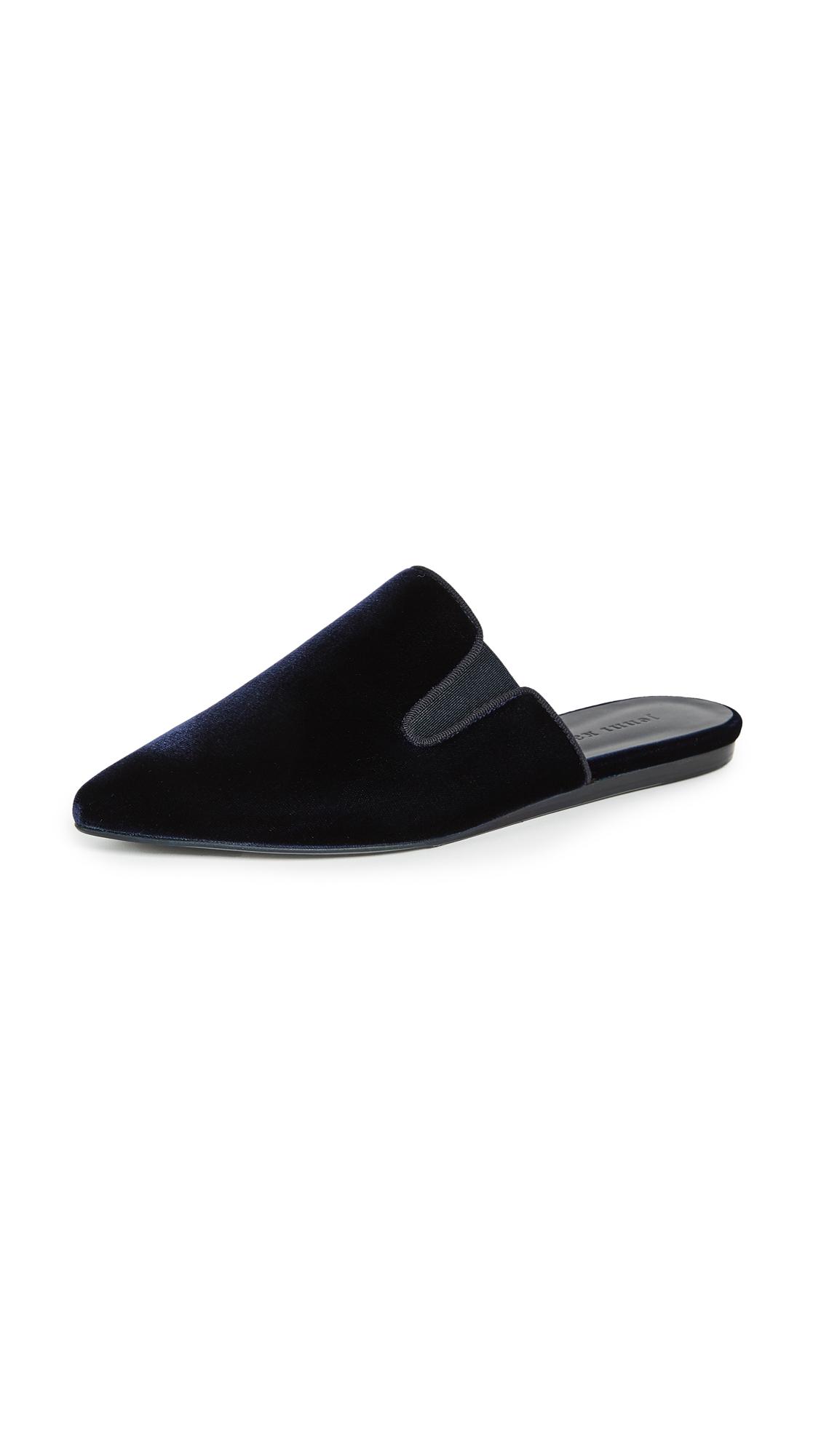 Photo of Jenni Kayne Velvet Mules - buy Jenni Kayne shoes