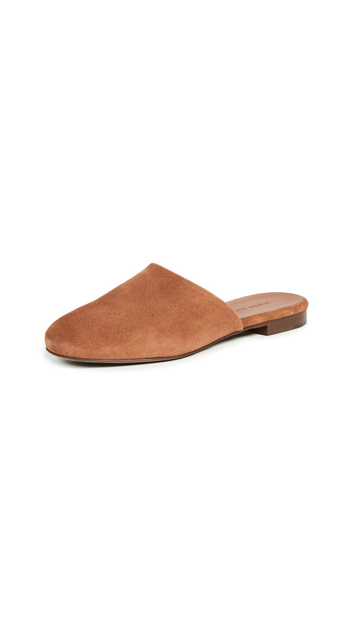 Jenni Kayne Suede Slippers - Saddle