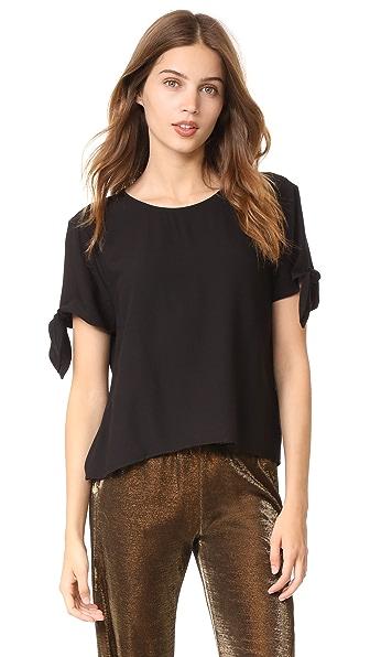 Jenni Kayne Tie T-Shirt - Black