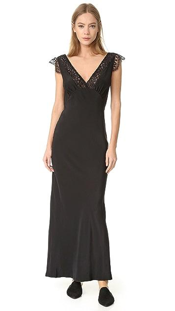 Jenni Kayne Lace V Neck Dress